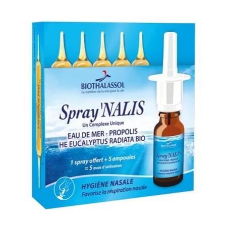 SPRAY'NALIS - 5 AMPOULES