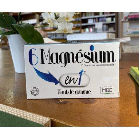 6 MAGNESIUM EN 1 - 60 COMPRIMES